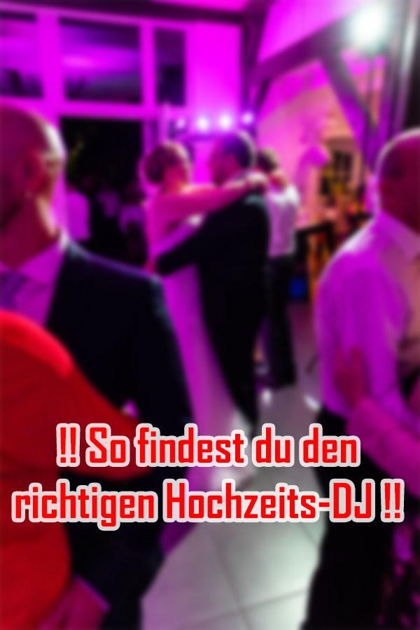 Tipps um den richtigen Hochzeits-DJ zu finden