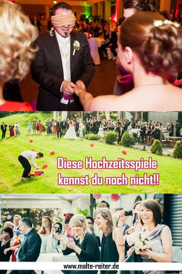 Ideen für witzige Hochzeitsspiele