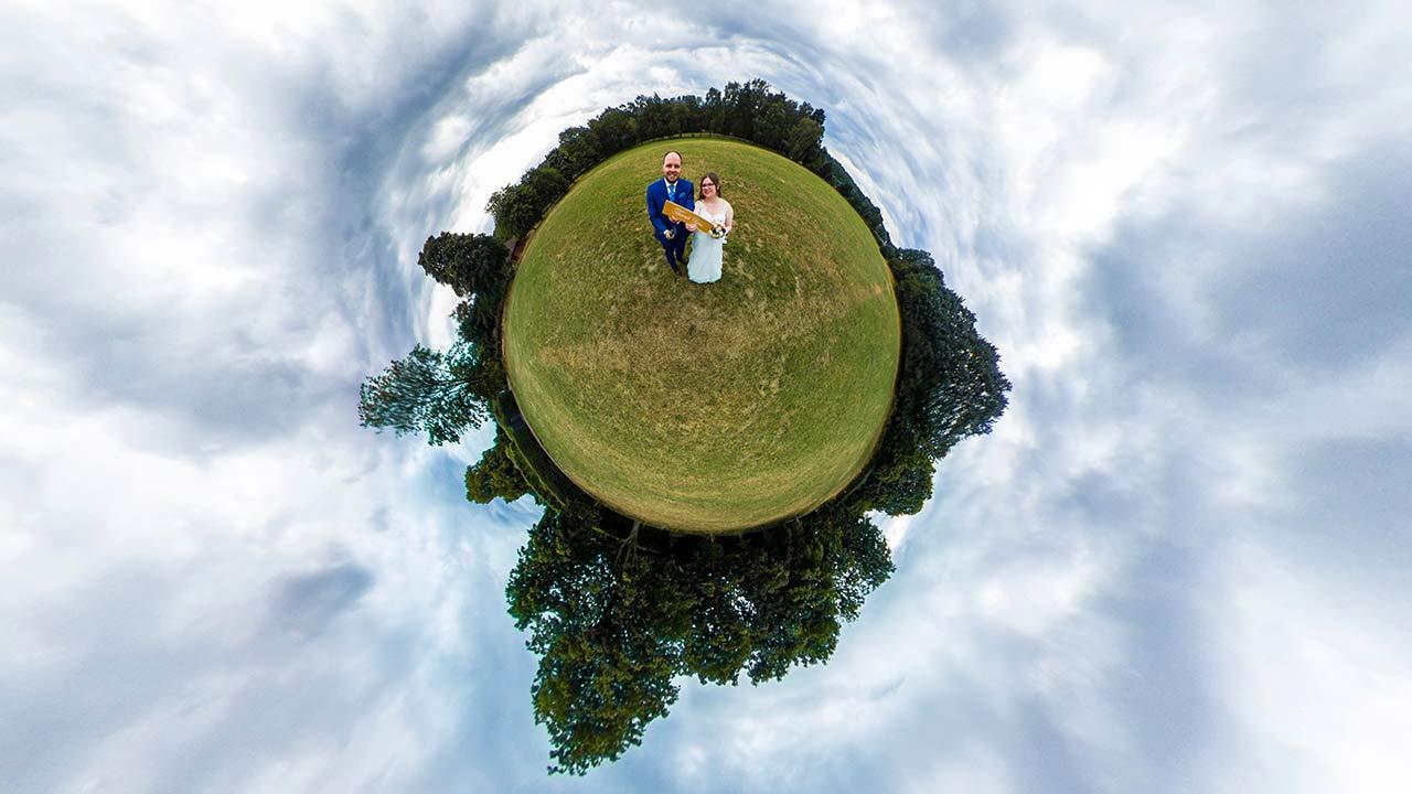 360 Grad Hochzeitsfotos