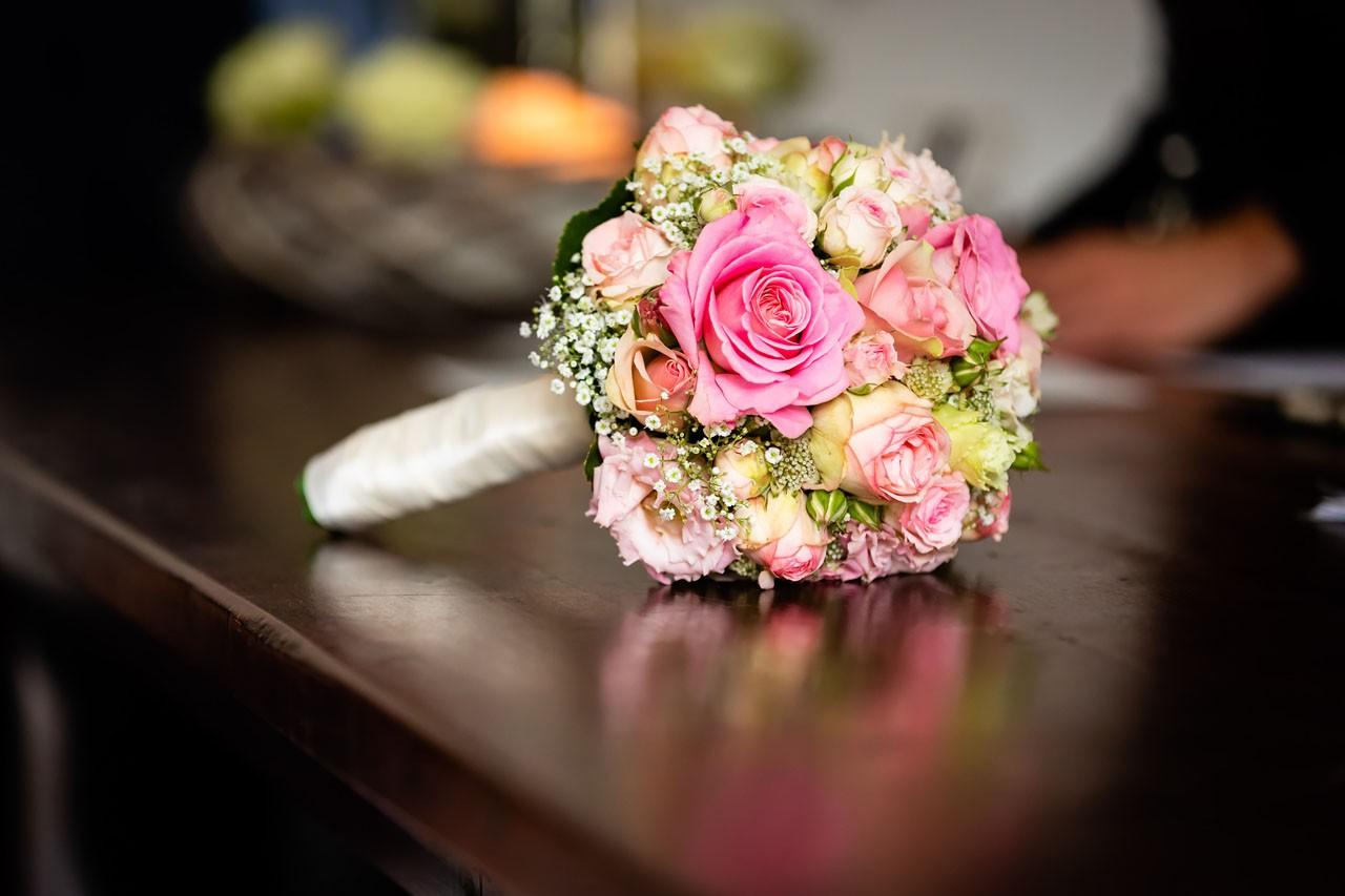 Schloss Gut Wuppertal Hochzeit Blumenstrauss