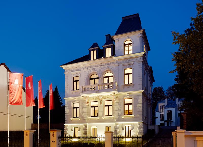 Hochzeitsnacht Hotel Villa am Ruhrufer
