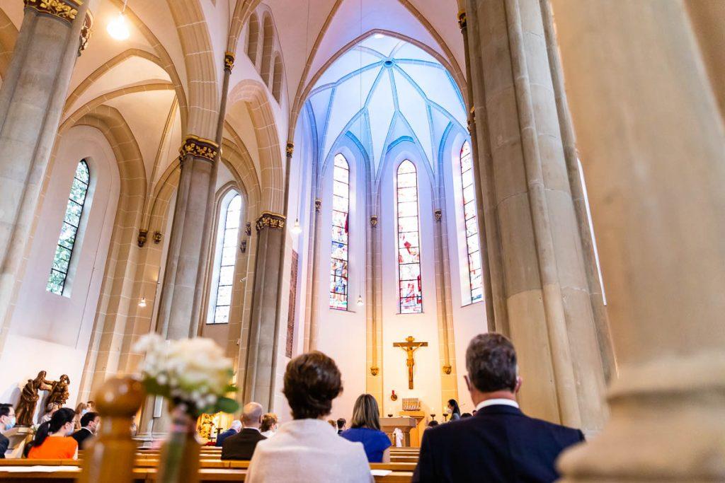heiraten in der Kirche Unterschied bei Trauung